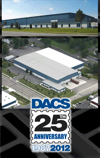 DACS, inc. main plant in Portsmouth, VA